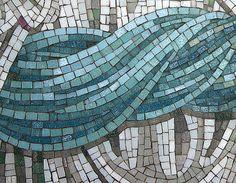 detail, Gabriel; Sun Dog mosaics