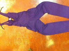 JUMPSUIT Overall Hosenanzug purple Rayonjersey  von Mother Earth auf DaWanda.com
