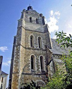 Eglise St-Pierre - St-Laurent .Baugé. Pays-de-la-Loire