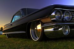 1961 Cadillac Coupe de Ville custom  oooooooh hello sexy!
