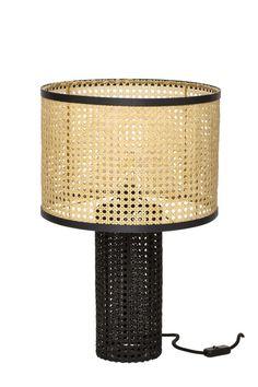 Lampe à Poser Paille-En-Queue Grande Lampe, Decoration, Rattan, Light Fixtures, Cool Designs, Wall Lights, Objects, Bulb, Flooring