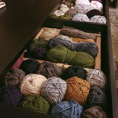 Which yarn is your favorite? by K.M. Hutton | Hatch.co