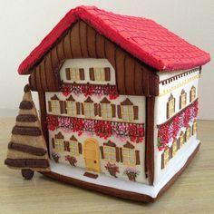 Bavarian gingerbread house