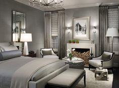Greige Paint, Natural Room Look : Try Greige In Your Bedroom For Relaxation And Rest