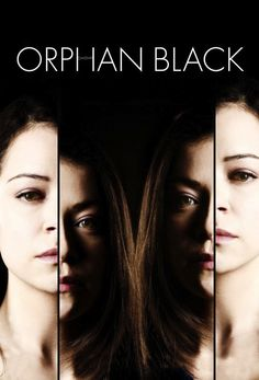 Orphan Black: Season One - My FAVORITE show of Been stalking the DVR for the premiere of season Tatiana Maslany is an amazing actress, taking on seven (?) roles in season Addictive, edge-of-your-seat fun. Orphan Black, Big Bang Theory, Black Poster, Black Tv Series, Die Simpsons, Cinema Video, Tv Series 2013, Tatiana Maslany, Sci Fi Thriller