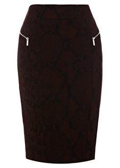 Karen Millen pencil skirt, Was £99, Now £49