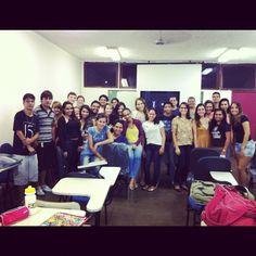 Palestra com alunos da Universidade Federal do Espírito Santo. Tema: Blogar é legal, mas eu quero RESULTADOS!