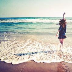 Me... On a Beachin' Day ;-)
