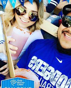 THINK BLUE: Yesterday at the dodger game  #dodgers #dodgerstadium #dodgerblue #dodgerbaseball #bestfriend #friends #goodfriends #getbeers #siono @jessmend1 by lazaro_93