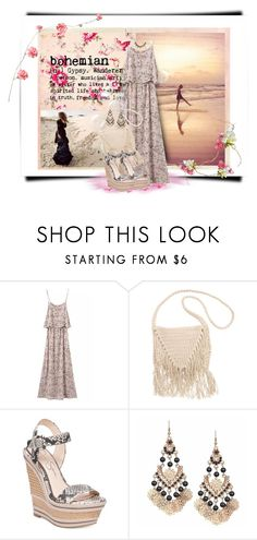 """Bohemian Rose"" by loveroses123 ❤ liked on Polyvore featuring Billabong and Jessica Simpson"