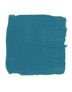 benjamin moore deep ocean -- blue interior paint.