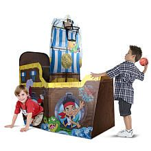 Jakes Pirate Tent - Totally thought they should make this months ago when I wanted to do a Jake's theme in Connor's room