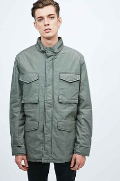 Cheap Monday Stay Parka in Black | Urban Outfiters | Pinterest