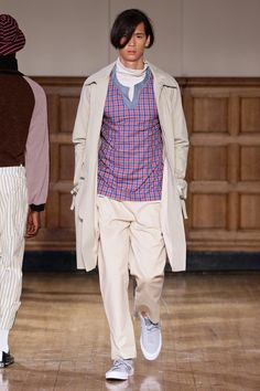 ALC Menswear AW18 • Look 4 Shoes: Converse One Star • Photo: SDR Photo Garments available to source on request • #ALCman #amandalairdcherry #SAMW #avantegarde #ratedonestar