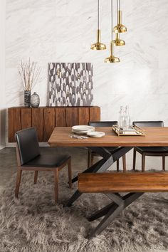 Get inspired by Modern & Contemporary Dining Room Design photo by Wayfair. Wayfair lets you find the designer products in the photo and get ideas from thousands of other Modern & Contemporary Dining Room Design photos.