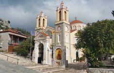 Saint Panteleimon Church - Siana In Rhodes West Coast, Notre Dame, Island, Building, Travel, Beautiful, Greece, Viajes, Buildings