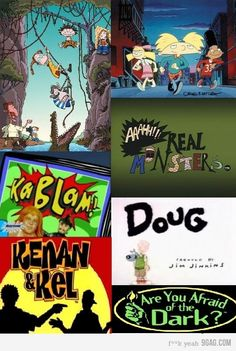 Maybe the most awesome TV shows ever... Hoping they're on netflix by the time I have kids old enough to watch