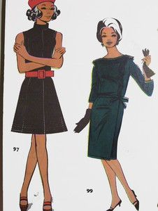 Pattern drafting book with lots of adorable 1960's fashion illustrations! So Mad Men! $50