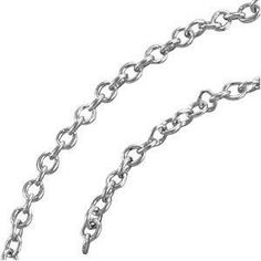 Platinum 1.5 mm Solid Cable Chain: 20 Inch - http://www.wonderfulworldofjewelry.com/jewelry/necklaces/chains/platinum-15-mm-solid-cable-chain-20-inch-com/ - Your First Choice for Jewelry and Jewellery Accessories