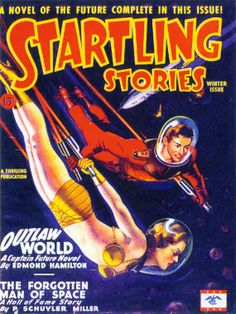 18x24 Vintage SciFi Comic Book Print. Startling by curiousprints, $35.00