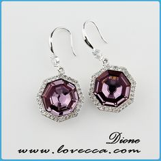 Item No.:AE1(1228) #Wholesale, #swarovski, #earrings, #jewelry, #crystal, #love, #wedding, #bridal, #diamond, #fashion, #factory