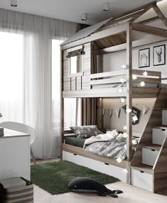 Ideas for boys bedrooms | Get more inspirations by checking out Circus' amazing bedroom furniture for boys! Go to CIRCU.NET