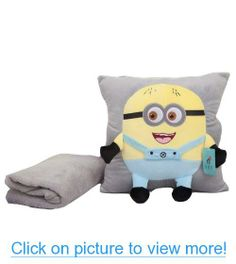 Despicable me 2 toys Minion Pillow Pet Despicable Me Blankets Bedding for Kids Gift