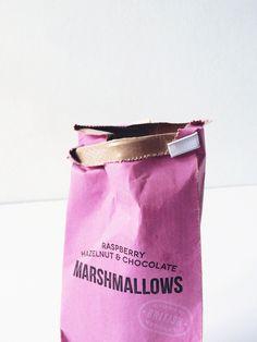 Marshmallows pink
