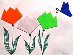 Craft Ideas for India Independence Day and Republic Day - Holiday - Buvizyon Independence Day Card, Independence Day Activities, Independence Day Decoration, Indian Independence Day, Independence Day Drawing, 100 Diy Crafts, Holiday Crafts For Kids, Arts And Crafts, Kids Crafts