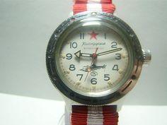 Ussr soviet #russian vostok komandirskie #submarine red star military #watch 17j,  View more on the LINK: http://www.zeppy.io/product/gb/2/182135919744/
