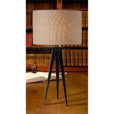 Kenroy Home Foster Table Lamp, Oil Rubbed Bronze