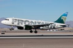 Frontier Airlines Airbus A319-111 N921FR 'Fritz the Goat'