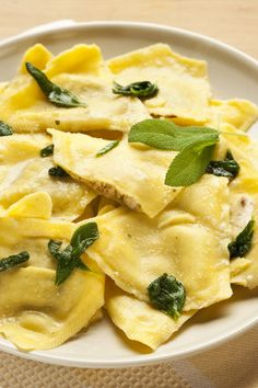 Butternut Squash Tortellini with Brown Butter Sauce Recipe