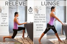 """This Classic Barre Thigh Workout targets mainly the quads, the major muscle group of the legs. There are advanced modifications to """"Make it Fire"""" taken from our BarreAmped Fire Classes! Pilates Barre, Ballet Barre, Pilates Workout, Barre Workouts, Studio Workouts, Easy Workouts, At Home Workouts, Workout Ideas, Home Exercise Program"""