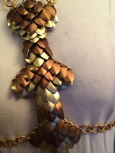 Diamondback Scale Mail Harness by ScailleMaille on Etsy, $165.00