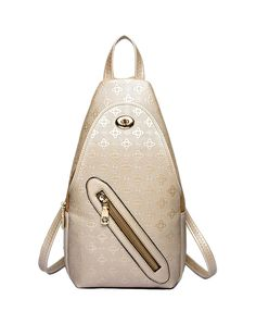 Check the details and price of this Rose Gold Zipper Mini Casual Backpack (Gold, D.jiani) and buy it online. VIPme.com offers high-quality Backpacks at affordable price.