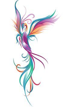 Pretty Tattoos, Cute Tattoos, Leg Tattoos, Beautiful Tattoos, Body Art Tattoos, Sleeve Tattoos, Tatoos, Phoenix Tattoo Feminine, Small Phoenix Tattoos