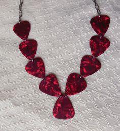 https://www.etsy.com/listing/202452331/scarlet-red-guitar-pick-necklace