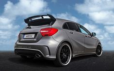 Vaeth (Väth), a German car tuner, offered a redesigned aerodynamic kit and engine improvements for the owners of the 2014 Mercedes-Benz AMG hatchback. Mercedes A45 Amg, Audi, Benz A Class, Daimler Ag, Upcoming Cars, Gas Monkey, Classy Cars, Top Cars, Custom Cars
