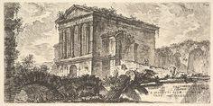 Giovanni Battista Piranesi | Plate 26: Temple of Clitumnus between Foligno and Spoleto . . . (Tempio di Clitumno tra Fuligno e Spoletti . . .) | The Met