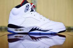 The Air Jordan 5 White Cement Drops In August