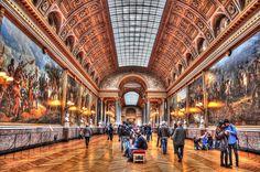 The Musée du Louvre by Francesco Alamia, via 500px