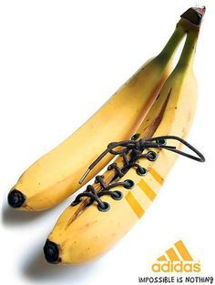 I love this example of an Adidas ambient media advert. This particular advert symbolises the 'banana kick' technique (curling the ball) in football and as simple as it is, the slogan 'Impossible is Nothing' impacts a powerful message which has existed throughout the brand's history. Unfortunately I do not know when this advert was created or who by however, the link I found it on is below.