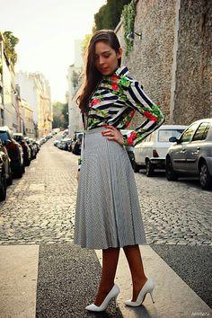 Foto de Ideas de cómo combinar texturas en la ropa