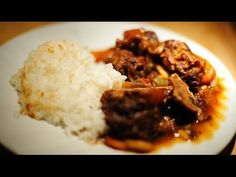 Instant Pot Jamaican Oxtail Stew - YouTube - Try with substitute for butter beans?