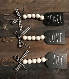 Are you searching for inspiration for farmhouse christmas decor? Check this out for cool farmhouse christmas decor inspiration. This unique farmhouse christmas decor ideas appears to be entirely brilliant. Diy Christmas Decorations Easy, Diy Christmas Ornaments, Diy Christmas Gifts, Rustic Christmas, Christmas Projects, Holiday Crafts, Christmas Holidays, Stocking Ornaments, Christmas Ideas