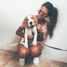 Olha a cara desse cachorrinho. Instagram: @viihrocha
