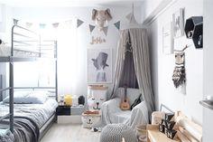 Beautiful silver grey canopy styling!