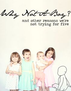 Why Not A Boy! Great read!