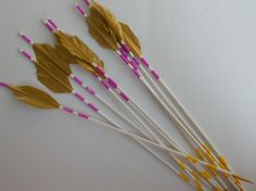 Purple and Yellow Arrows